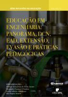 Capa para Educação em Engenharia: panorama, DCN, EaD,  extensão, evasão e práticas pedagógicas